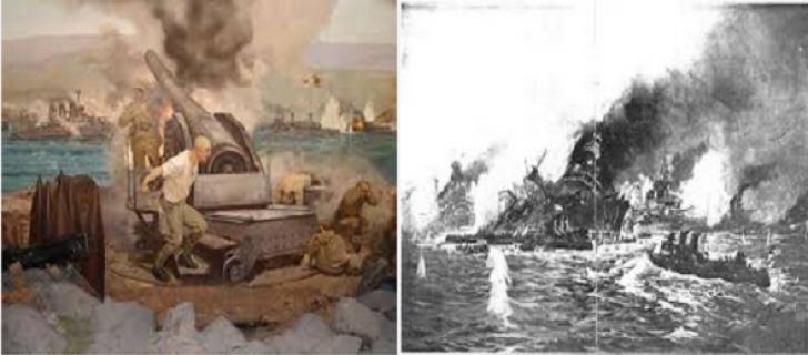 Çanakkale Savaşı Deniz Harekatı
