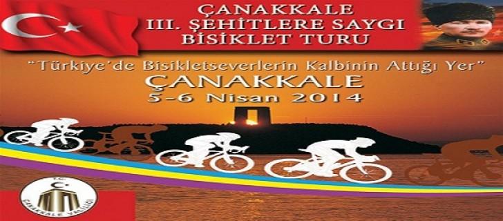 Çanakkale Şehitlere Saygı Bisiklet Turu
