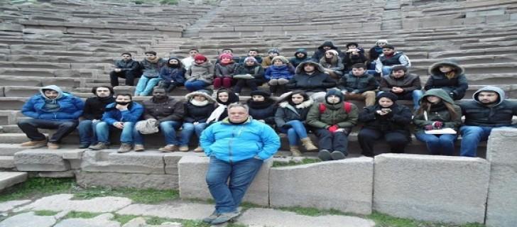 ÇOMÜ Turizm Truva – Assos Eğitim Gezisi