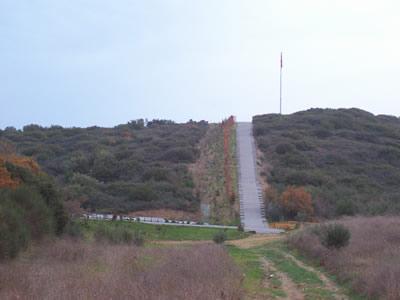 Karayörük Deresi Şehitliği Merdivenleri