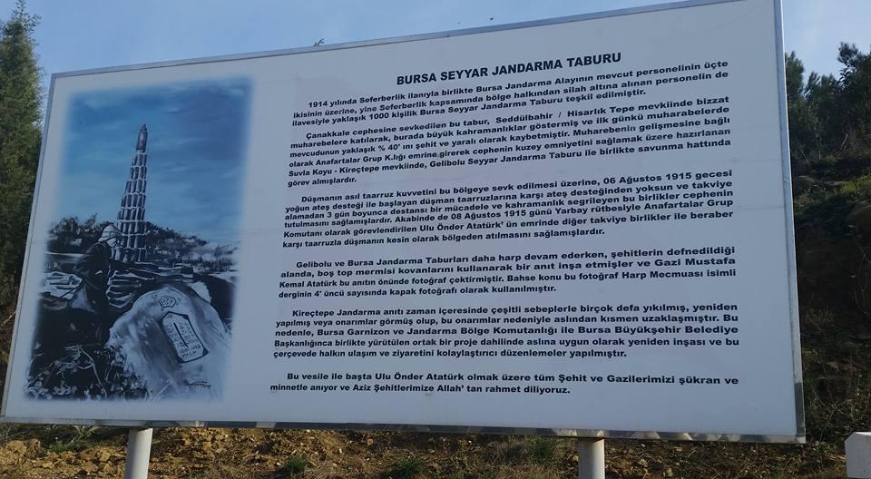 Kireçtepe Bursa Seyyar Jandarma Taburu