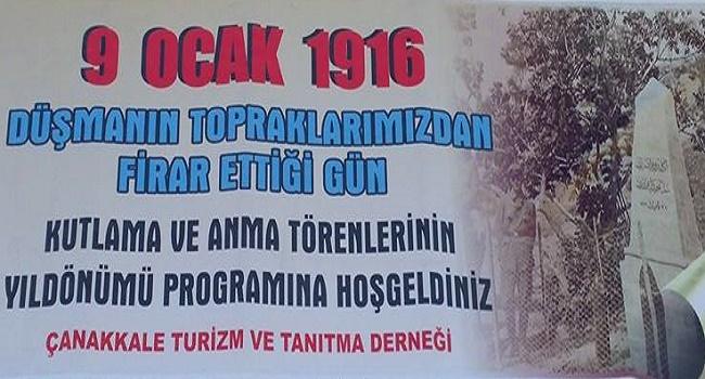 9 Ocak 2016 Töreni Çanakkale