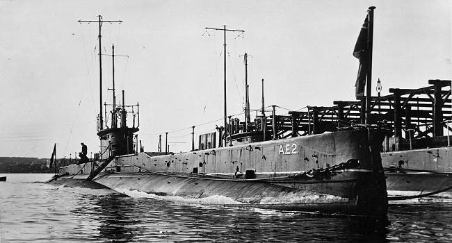AE2 Avustralya Denizaltısı