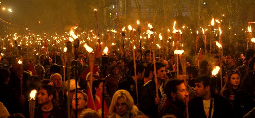 29 Ekim Çanakkale Fener Alayı