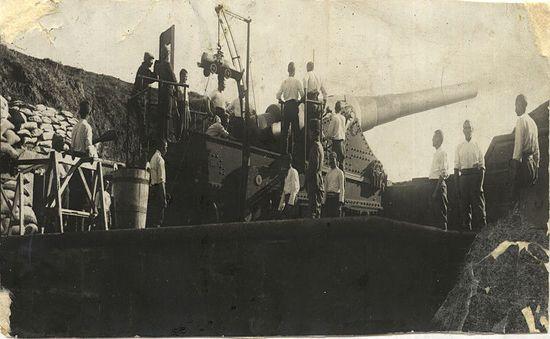 Mecidiye Tabyası 18 Mart 1915